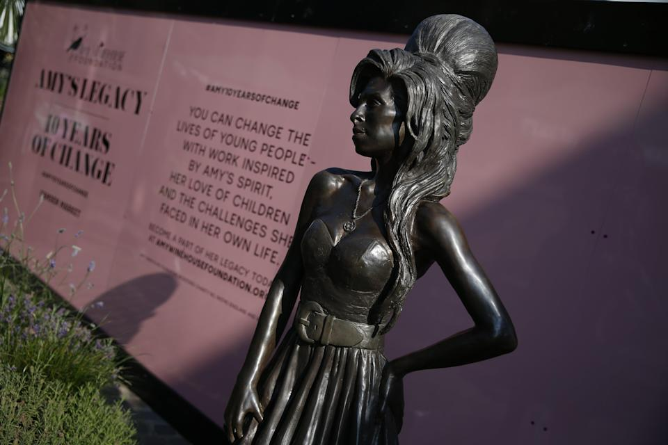 Since her death, Amy Winehouse's life has been commemorated in books and films (Hollie Adams/PA) (PA Wire)