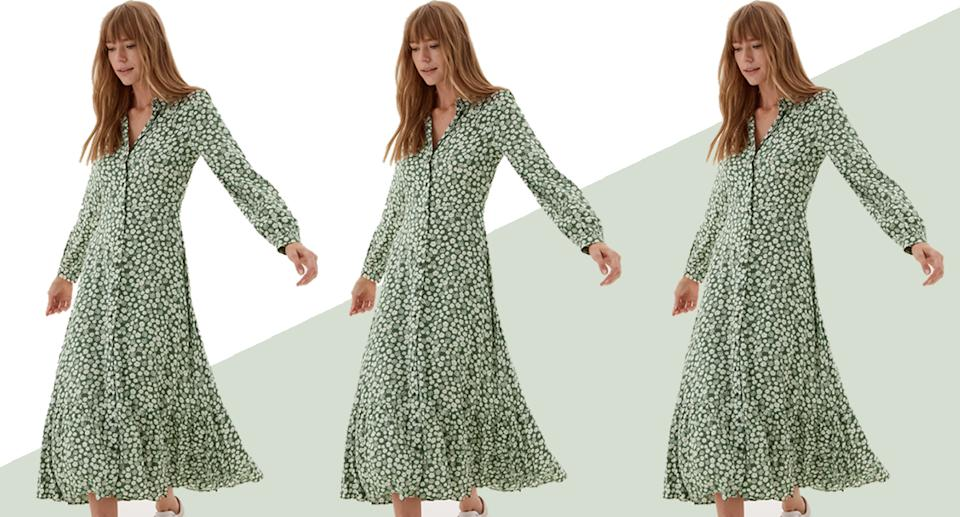 This new in M&S dress is our dress of the day - here's why. (Marks and Spencer)