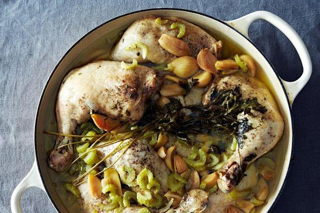 Chicken with 40 Cloves on Food52
