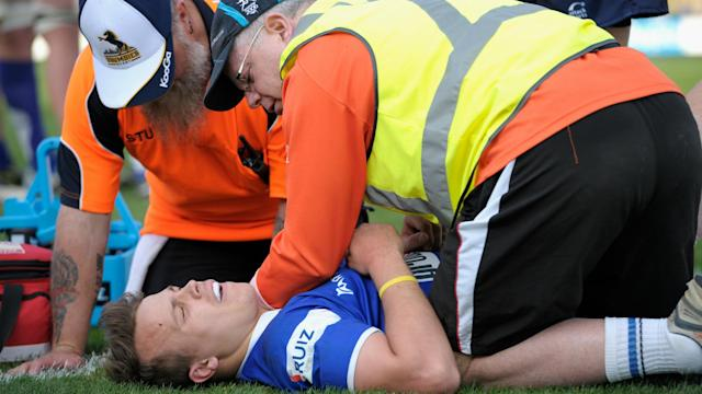 On-field referees have the authority to issue a blue card to any player displaying signs of concussion, starting this weekend in the ACT.