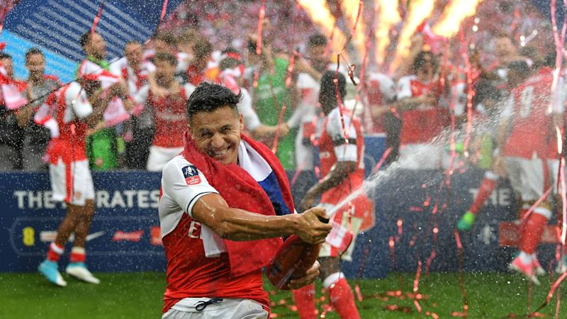 Arsene Wenger hints he's confident of keeping Man City transfer target Alexis Sanchez at Arsenal