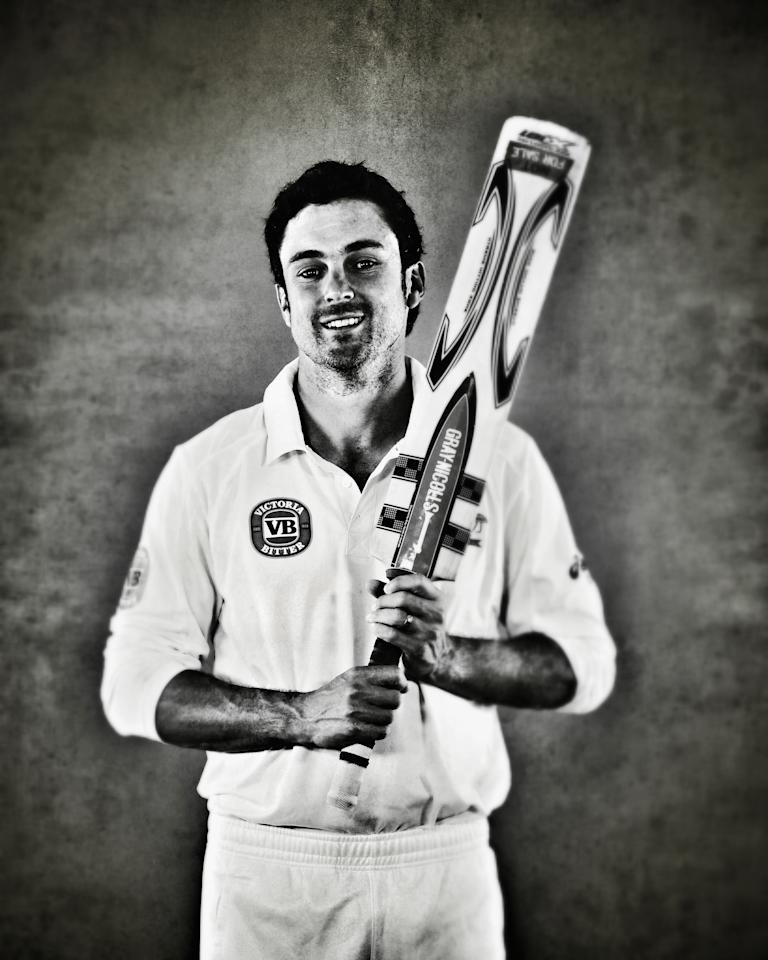 WORCESTER, ENGLAND - JULY 01:  (EDITORS NOTE: This image was processed using digital filters) Ed Cowan of Australia  poses on July 1, 2013 in Worcester, England.  (Photo by Ryan Pierse/Getty Images)