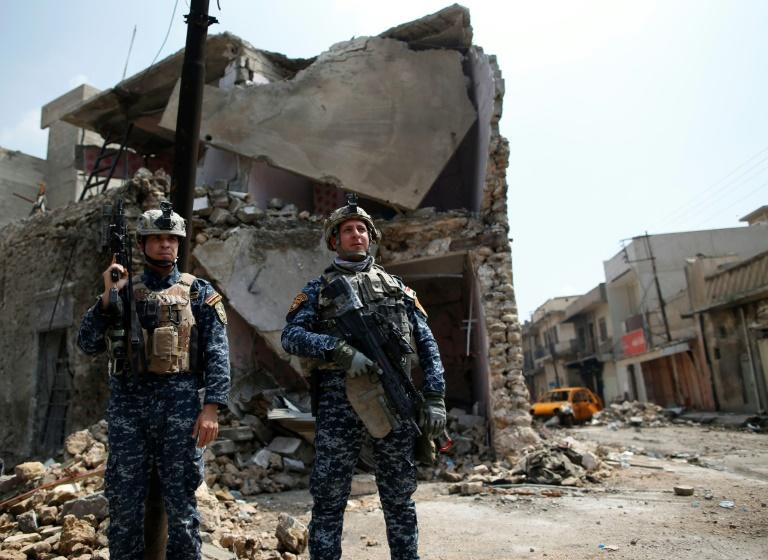 Iraqi forces launched an assault to push IS jihadists from Mosul on October 17