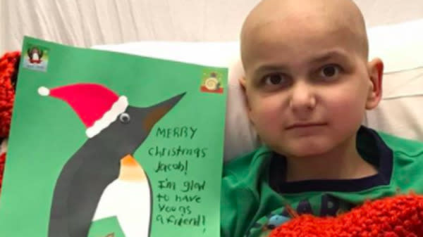 9-Year-Old Cancer Patient Asks For Homemade Cards As Final Christmas Wish