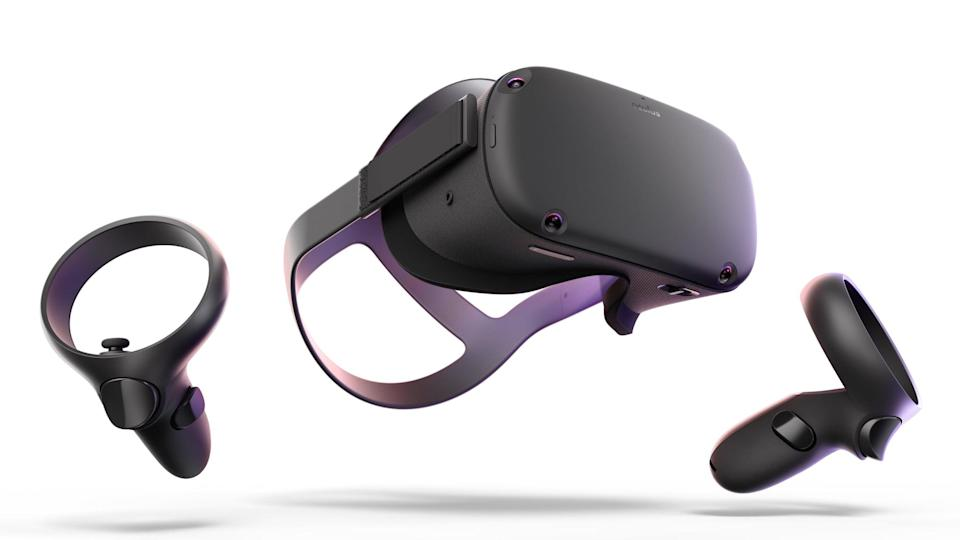 <p>Get this <span>Oculus Quest VR Gaming System</span> ($489) for the ultimate gamer.</p>