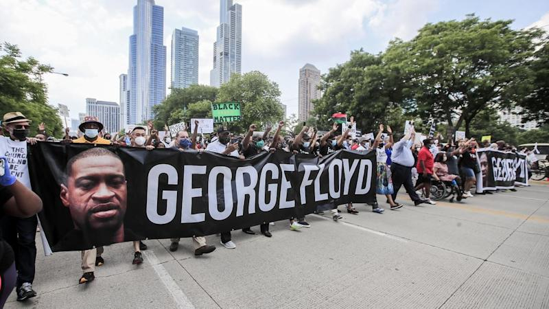 A poll indicates most people in the United States support protests sparked by George Floyd's death