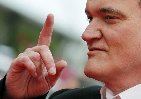176446a282 Tarantino puts in early red carpet turn at Cannes Film Festival