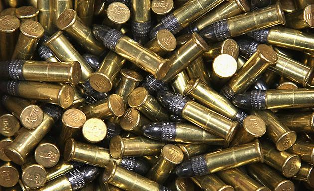 File photo of .22 cal. bullets (Scott Olson/Getty)