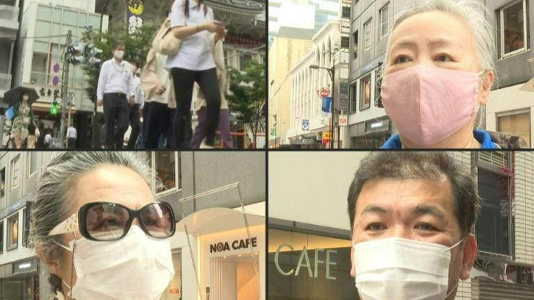 Tokyo residents react to new poll showing opposition to Olympics