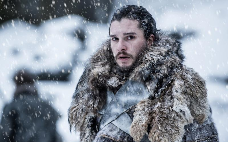 Jon Snow north of the wall - HBO