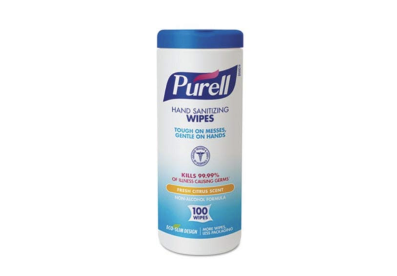 Purell Hand Sanitizing Wipes, 100 count. (Photo: Amazon)