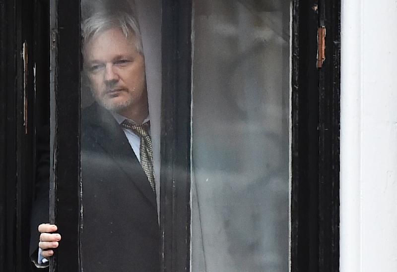 Wikileaks founder Julian Assange has been holed up in Ecuador's London embassy since 2012, dodging a European arrest warrant and extradition to Sweden over a 2010 probe into rape and sexual assault allegations (AFP Photo/BEN STANSALL                        )