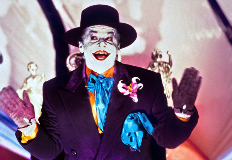 Jack Nicholson as The Joker in 'Batman' (Photo: Warner Bros./Courtesy Everett Collection)
