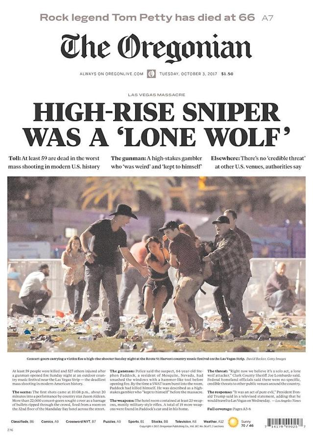 "<p>""The Oregonian,"" published in Portland, Ore. (newseum.org) </p>"