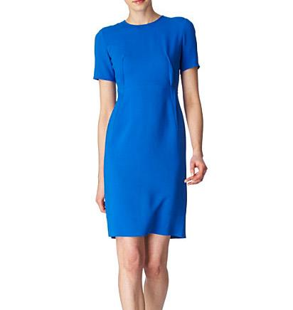 Kate Middleton At The National Portrait Gallery Wearing Blue Stella McCartney Dress