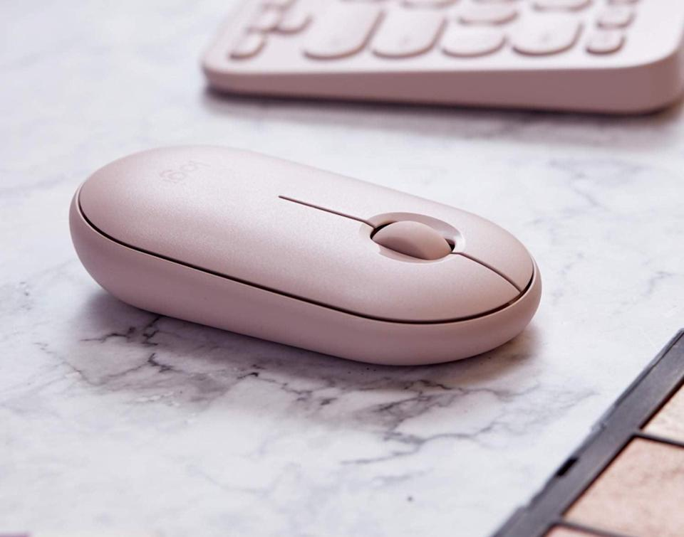 <p>This adorable and quiet <span>Logitech Pebble Wireless Mouse</span> ($30) is a way for them to put some personality into how they spend time surfing the web - it comes in a few colors, too! </p>
