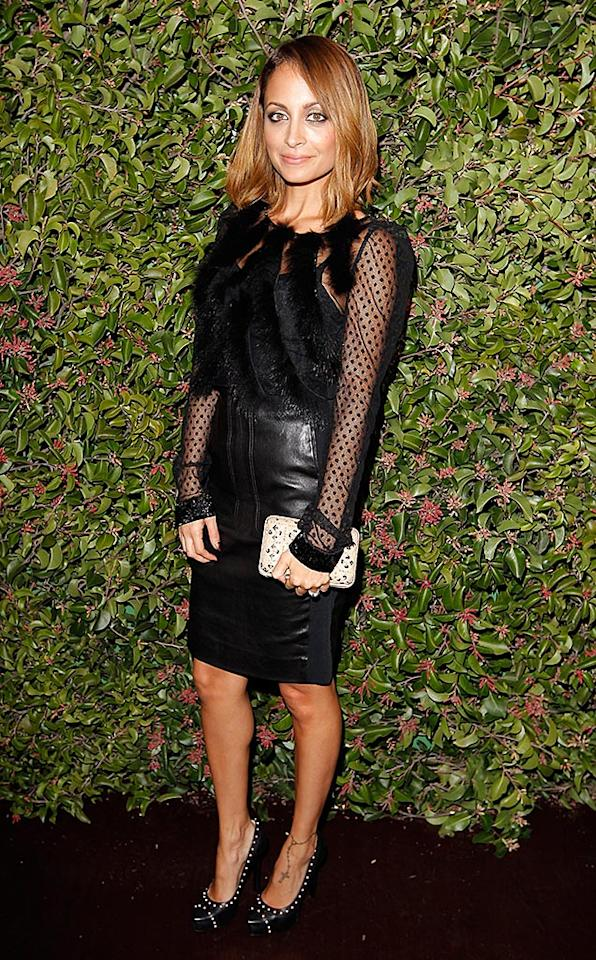 LOS ANGELES, CA - JANUARY 24:  Designer Nicole Richie attends the Ferragamo presentation Spring Summer Runway Collection with VIP dinner, hosted by Jacqui Getty and Harpers BAZAAR at Chateau Marmont on January 24, 2013 in Los Angeles, California.  (Photo by Donato Sardella/WireImage)