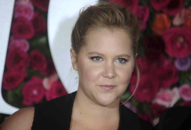 Amy Schumer at the 72nd Annual Tony Awards in New York City (STAR MAX/IPx)