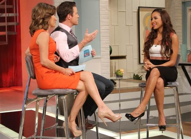 'Devious Maids' star Dania Ramirez stops by Access Hollywood Live on June 25, 2013 -- Access Hollywood