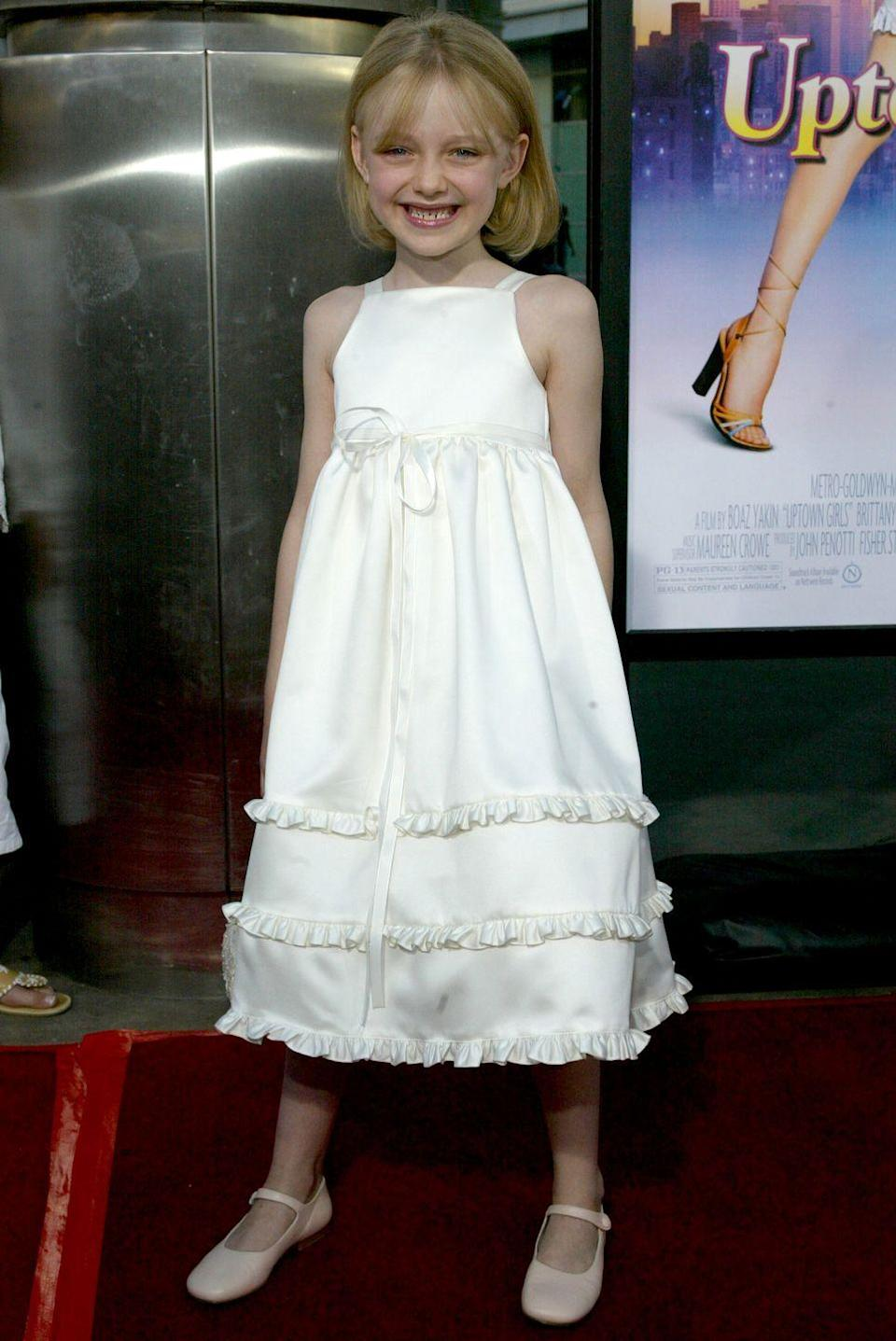 <p>During the 2000s, Dakota appeared in huge blockbusters like <em>Uptown Girls</em> and <em>War of the Worlds</em>. And at the age of seven, she had already earned a Screen Actors Guild award nomination for her role in <em>I Am Sam</em>.</p>