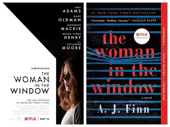 The Woman in the Window Netflix movie versus book differences