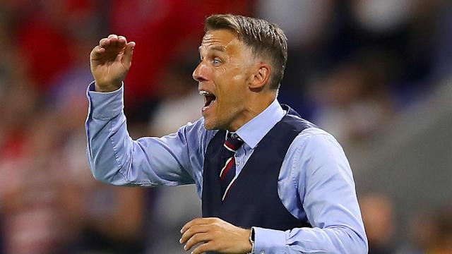"""Managing England at the Women's World Cup has left Phil Neville feeling emotional and he admitted """"I cry at everything""""."""
