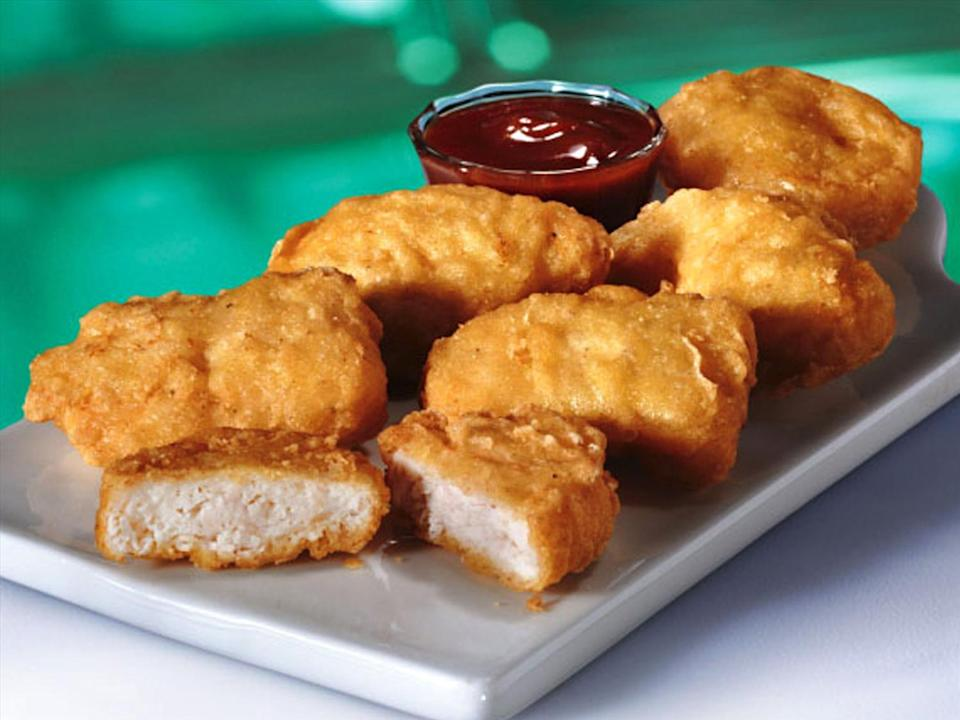 McDonald's white meat Chicken McNuggets, photo