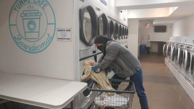 Nancy Seto's laundromat offers free services on Monday, Wednesday and Friday of each week.