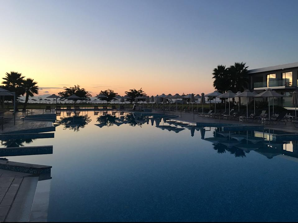 Missing persons: a resort at Messini in southern Greece (Simon Calder)