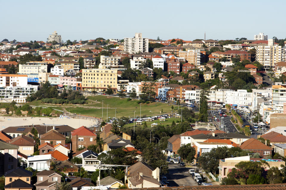 Property prices in all capital cities rose in the first moth of 2020, according to CoreLogic. (Source: Getty)