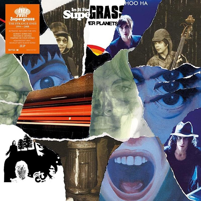 Supergrass reunion The Strange Ones 1994-2008 vinyl