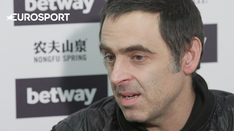 Last year's UK Championship winner Ronnie O'Sullivan believes more Chinese players should be targeting snooker silverware.