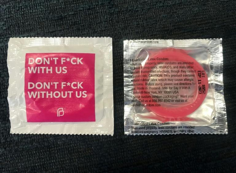 State Senator Mike Morrell's office received condoms as part of a 'goody bag' from Planned Parenthood on Valentine's Day (AFP Photo/-)
