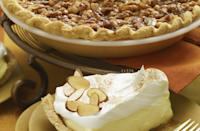 """<p>Sometimes, the berry pies can get to be too much. If that's the case, try this vanilla walnut pie for a sweet, nutty, cheesecake-like pie. Pair it with <a href=""""https://www.thedailymeal.com/best-recipes/best-coffee-recipes?referrer=yahoo&category=beauty_food&include_utm=1&utm_medium=referral&utm_source=yahoo&utm_campaign=feed"""" rel=""""nofollow noopener"""" target=""""_blank"""" data-ylk=""""slk:your favorite fall-flavored coffee"""" class=""""link rapid-noclick-resp"""">your favorite fall-flavored coffee</a>.</p> <p><a href=""""https://www.thedailymeal.com/recipes/vanilla-walnut-pie-recipe-0?referrer=yahoo&category=beauty_food&include_utm=1&utm_medium=referral&utm_source=yahoo&utm_campaign=feed"""" rel=""""nofollow noopener"""" target=""""_blank"""" data-ylk=""""slk:For the Vanilla Walnut Pie recipe, click here."""" class=""""link rapid-noclick-resp"""">For the Vanilla Walnut Pie recipe, click here.</a></p>"""