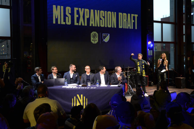 Miami and Nashville stock rosters in expansion draft