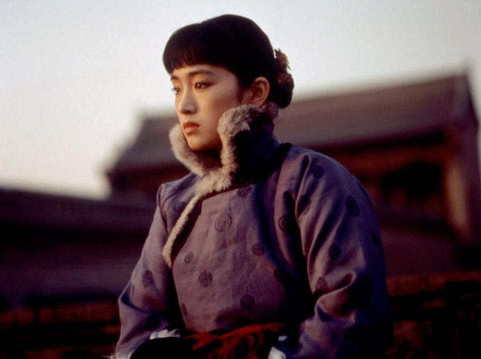 """<a href=""""http://movies.yahoo.com/movie/raise-the-red-lantern/"""" data-ylk=""""slk:RAISE THE RED LANTERN"""" class=""""link rapid-noclick-resp"""">RAISE THE RED LANTERN</a> (1992) <br>Directed by: <span>Zhang Yimou</span> <br> Starring: <span>Gong Li</span>, <span>He Caifei</span> and <span>Cao Cuifeng</span>"""