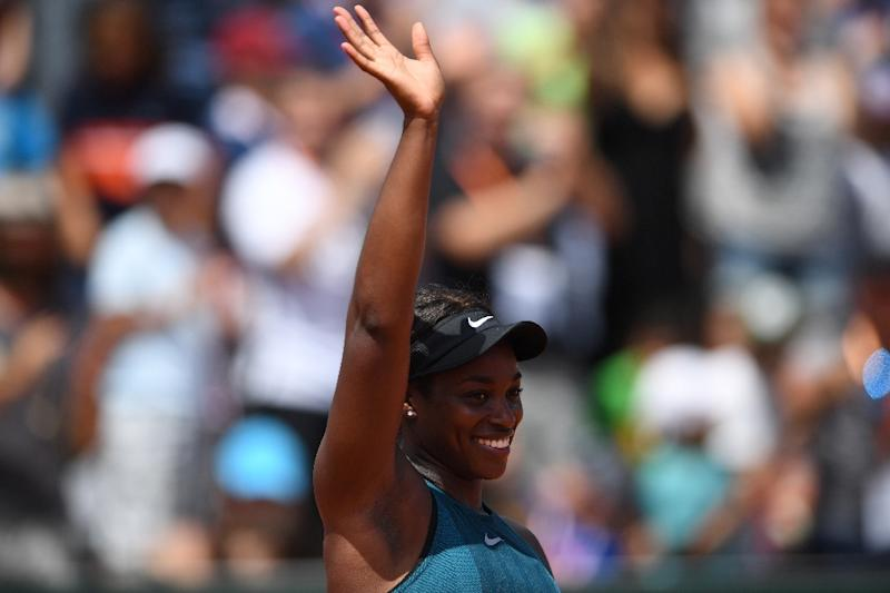Stephens into first French Open quarter-final