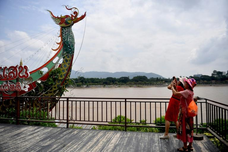 The 'Golden Triangle', the intersection of northern Thailand with Myanmar and Laos was notorious for conflict and drugs but it is now boosted by Chinese investment