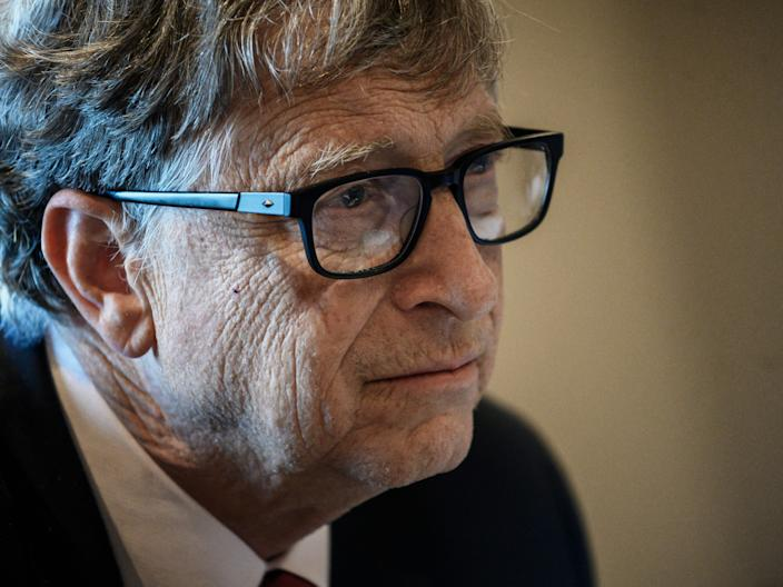 <p>Bill Gates announced his split from wife Melinda French Gates last month</p> (AFP via Getty Images)
