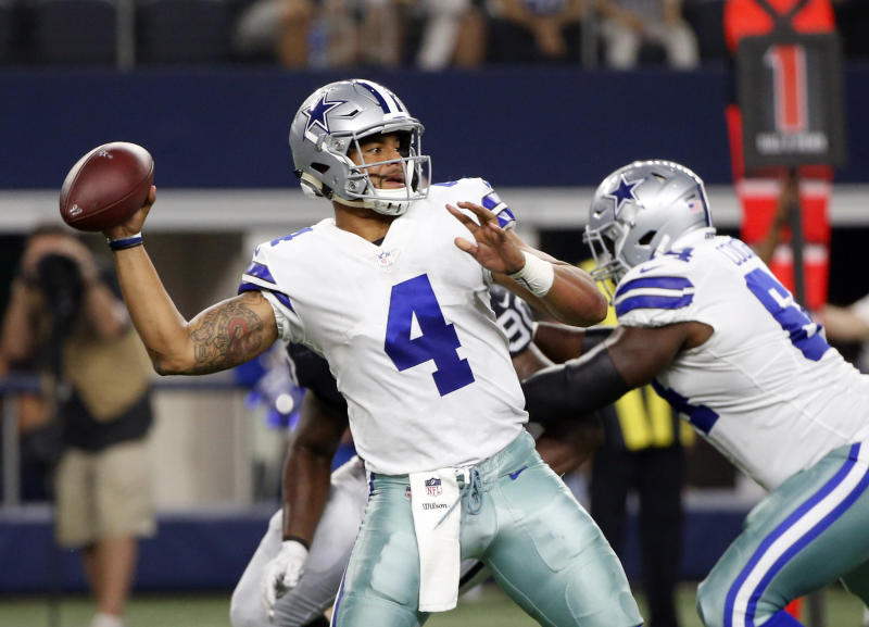 More will be asked of Cowboys quarterback Dak Prescott in his second season (AP)