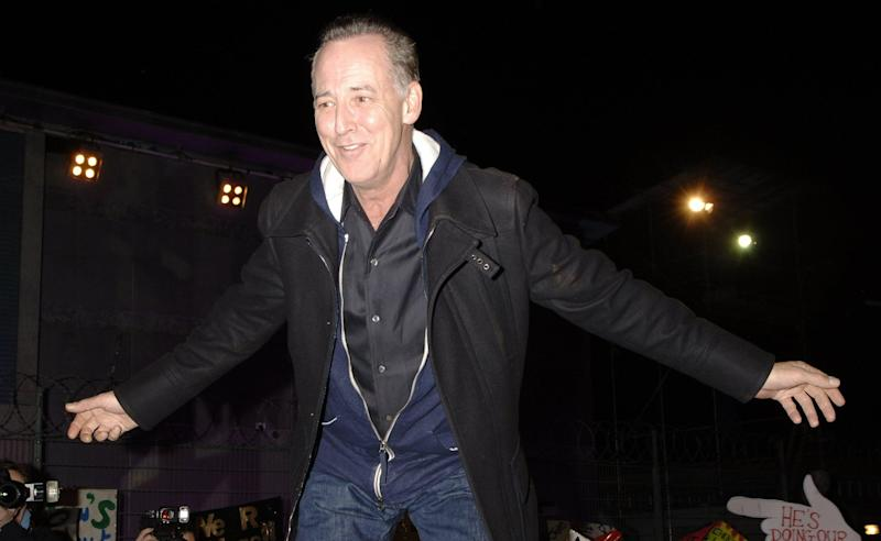 Michael Barrymore becomes the 10th person to be evicted from the Celebrity Big Brother house during the Grand Final, finishing in 2nd place, at Elstree Studios, north London, Friday 27 January 2006. See PA story SHOWBIZ Brother. PRESS ASSOCIATION Photo. Photo credit should read: Yui Mok/PA (Photo by Yui Mok - PA Images/PA Images via Getty Images)