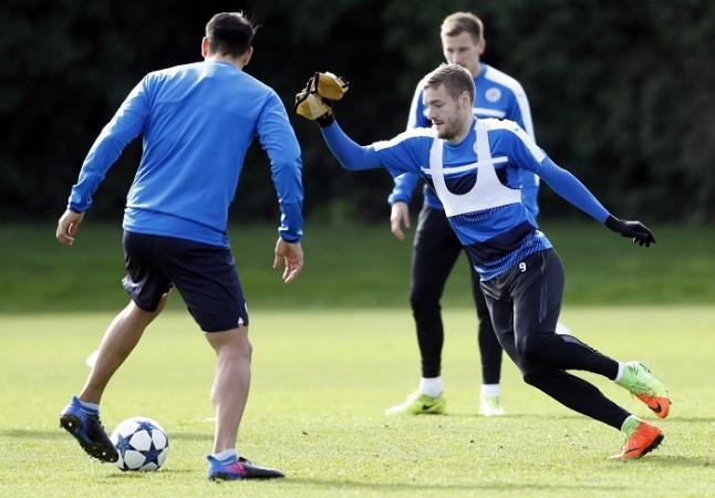 Jamie Vardy, Leicester City, Sevilla, second leg, Champions League