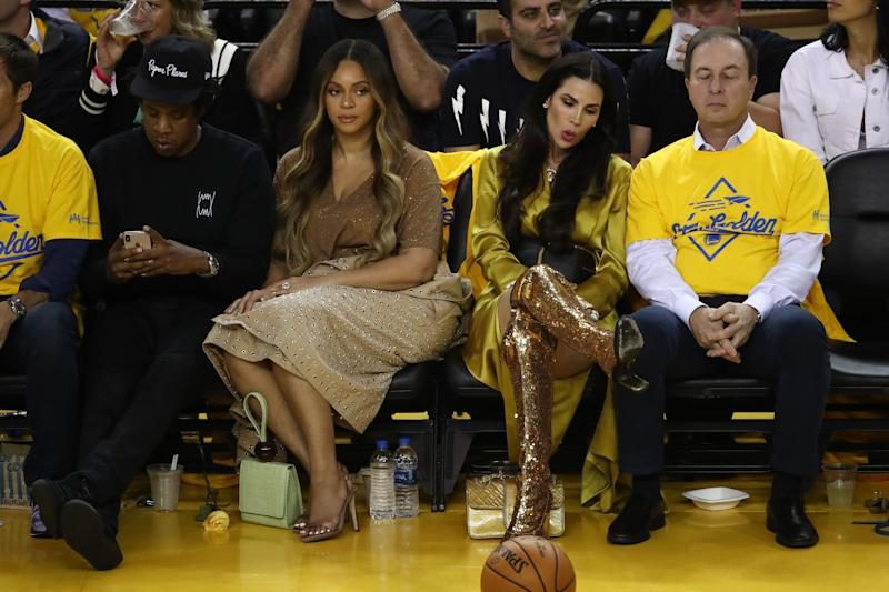 Beyonce's Publicist Addresses BeyHive After Courtside Side-Eye Incident