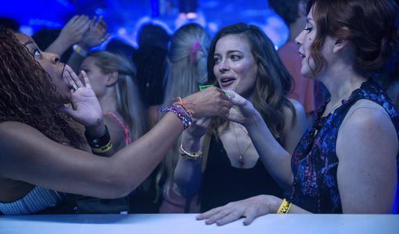 "<div>  </div> <p>A few years ago, every movie studio wanted the next <em>Bridesmaids</em>. Last year they chased the success of <em>Rough Night</em> and <em>Girls Trip</em>. Netflix's <em>Ibiza</em> will be compared to all three, but it also reveals the secret: There will never be enough of these movies.</p> <p>Directed by Alex Richanbach, <em>Ibiza</em> is a welcome newbie in this movie tradition, ostensibly with nothing new to bring to the table. But three excellent leads with effortless chemistry and a hilarious script make it the perfect friend-caper-slash-rom-com to start your summer.</p> <div><p>SEE ALSO: <a href=""https://mashable.com/2018/04/13/best-movie-streaming-sites/?utm_campaign=Mash-BD-Synd-Yahoo-Ent-Partial&utm_cid=Mash-BD-Synd-Yahoo-Ent-Partial"" rel=""nofollow noopener"" target=""_blank"" data-ylk=""slk:From Netflix to Hulu, the best streaming sites for movies"" class=""link rapid-noclick-resp"">From Netflix to Hulu, the best streaming sites for movies</a></p></div> <p>The plot is blissfully simple: Harper (Gillian Jacobs) is sent to Barcelona to court an important client for her PR company. Her girlfriends Nikki (Vanessa Bayer) and Leah (Phoebe Robinson) tag along to make a getaway of it, despite Harper's protests.</p> <p>On their first night in Barcelona, Harper spots Leo (Richard Madden), a super hot night club D.J. They hit it off; one weakness of the film might be that it's unclear what they see in each other, but they're both kind of dorks who aren't sure how to act on apparent intial attraction. The actors have sufficient chemistry to make you want to see them back in the same room again, stat. Lauryn Kahn's quick-witted script punches up every interaction, and it doesn't hurt to hear Madden in his natural Scottish brogue. </p> <p>After the requisite meet-cute, Leo has to go on stage, and the ladies end up at an after-party where he's supposed to be in attendance. They kill time and do drugs to distract from Harper's mounting anxiety; Nikki entertains herself texting and eventually calling Harper's client in the area, and Leah gets into some literal hot water with a married man (<em>Sense8</em>'s Miguel Ángel Silvestre).</p>  <p>Richard Madden as dreamy D.J. Leo, frosted tips and all.</p><div><p>Image: ALEKSANDAR LETIC/netflix</p></div><p>Robinson gets some hilarious and snappy one-liners, and Leah is largely a product of the actress's own effervescent personality, and Jacobs plays the straight girl with aplomb (a more distilled version of Britta from <em>Community</em>). </p> <p>One could argue that the breakout is Bayer, whose character could easily have been annoying-bordering-on-dead weight. In the hands of the <em>SNL </em>vet, Nikki is an almost elegant blend of endearing and oblivious. Collectively, they form a beautiful unit; there's not a fight to behold throughout the film, and the final act's face-saving set piece is wonderful comedy and friendship goals to boot.</p> <p>""In a great rom-com, when they really work, it's because there are two romances going on,"" Richanbach said in a Netflix press release. ""There's one that is the friendship storyline and the other is the ​<em>romance</em>​. And this had the opportunity to be both."" </p>  <p>Phoebe Robinson, Gillian Jacobs, and Vanessa Bayer in 'Ibiza.'</p><div><p>Image: ALEKSANDAR LETIC/netflix</p></div><p>The girls learn that Leo has another gig that night in Ibiza, so they hop a last minute flight to chase love dick. Yes, in addition to a story about friendship and love, this movie is also a hero's quest; they have to make it back to Barcelona by the next morning or Harper loses her job.</p> <p>We're not interested in Harper's super important work meeting, and we're not expected to be interested. Instead of treating it as life-or-death, the film sells it through her acerbic boss (Michaela Watkins) and Harper's own dictation to her friends that they are going to party all night and suck it up in the morning – and what semi-functional adult hasn't shared the experience of balling too hard one night and struggling stoically through work the next morning?</p> <p><em>Ibiza</em> works because it knows exactly what it is. It doesn't bother weighing the characters down with too many problems or backstory, because the realer it gets, the less fun we have. When Harper does try to tell someone about her sexual dry spell and her difficult boss, her friends immediately cut to stop the oversharing. Nobody cares, they point out; they came to Spain to escape any baggage they may have had, and their wild night out exists in a vacuum for us.</p> <p>Filled with pool parties, club music (one scene has perhaps the best use ever of ""Despacito""), and regular doses of sex and humor, <em>Ibiza</em> is the best trip you can take this weekend.</p> <p><em>Ibiza</em> is now streaming on Netflix.</p> <div> <h2><a href=""https://mashable.com/2018/05/21/rom-com-cliche-moments/?utm_campaign=Mash-BD-Synd-Yahoo-Ent-Partial&utm_cid=Mash-BD-Synd-Yahoo-Ent-Partial"" rel=""nofollow noopener"" target=""_blank"" data-ylk=""slk:WATCH: Here are 5 unrealistic things that happen in every romantic comedy"" class=""link rapid-noclick-resp"">WATCH: Here are 5 unrealistic things that happen in every romantic comedy</a></h2> <div>  </div> </div>"