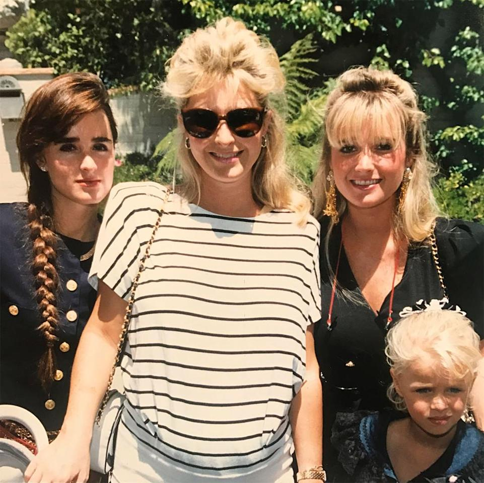 <p>Kyle Richards tbt style  https://www.instagram.com/p/BU99ojbAp1H/?hl=en  Credit: Kyle RIchards/Instagram</p>