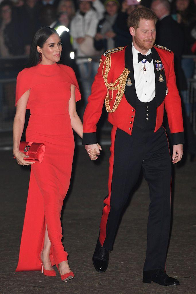 Meghan Duchess of Sussex and Prince Harry Mountbatten Festival of Music at the Royal Albert Hall, London, UK - 07 Mar 2020