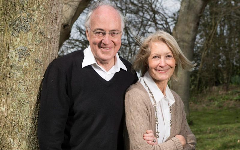 Sandra and Michael Howardat their home in Kent - Paul Grover