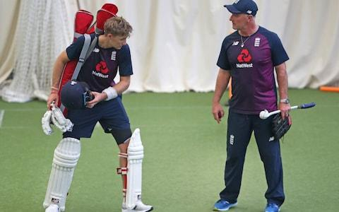 <span>Are Joe Root and his men getting the right advice from coach Thorpe?</span> <span>Credit: David Davies/PA Wire </span>