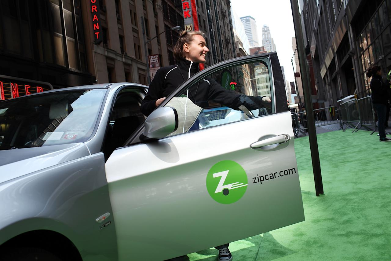 """Election day freebies ZipCar discount. Offering half-off hourly rates  for its""""Zip to the Polls"""" promotion, available on election day, November 6, from 5 a.m. and 9 p.m."""