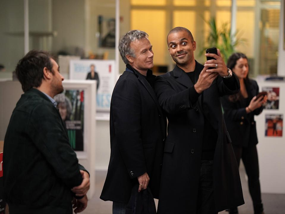 Franck Dubosc and Tony Parker in Call My Agent!Chritophe BRACHET